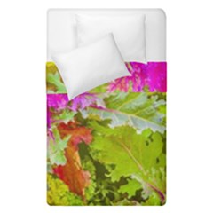 Colored Plants Photo Duvet Cover Double Side (single Size)