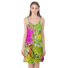 Colored Plants Photo Camis Nightgown