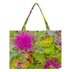 Colored Plants Photo Medium Tote Bag
