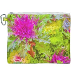 Colored Plants Photo Canvas Cosmetic Bag (xxxl)