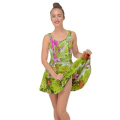 Colored Plants Photo Inside Out Dress