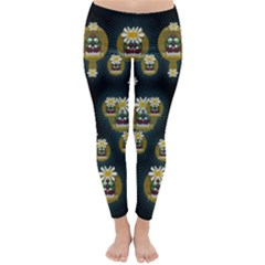 Bats In Caves In Spring Time Classic Winter Leggings