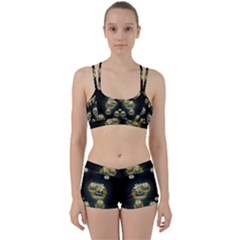 Bats In Caves In Spring Time Women s Sports Set
