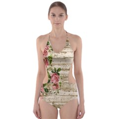 On Wood 2226067 1920 Cut Out One Piece Swimsuit