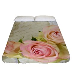 Roses 2218680 960 720 Fitted Sheet (queen Size)