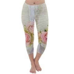 Roses 2218680 960 720 Capri Winter Leggings