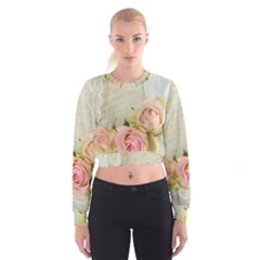 Roses 2218680 960 720 Cropped Sweatshirt