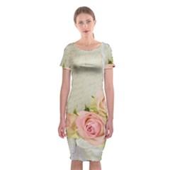 Roses 2218680 960 720 Classic Short Sleeve Midi Dress