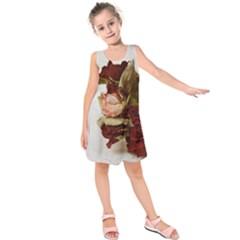 Vintage 1802788 1920 Kids  Sleeveless Dress
