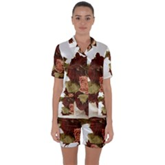 Shabby 1814373 960 720 Satin Short Sleeve Pyjamas Set