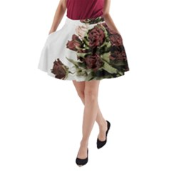 Roses 1802790 960 720 A Line Pocket Skirt