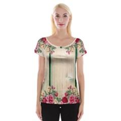 Roses 1944106 960 720 Cap Sleeve Tops