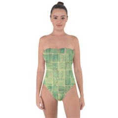 Abstract 1846980 960 720 Tie Back One Piece Swimsuit