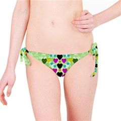 Summer Time In Lovely Hearts Bikini Bottom