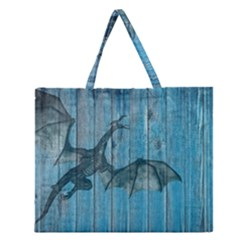 Dragon 2523420 1920 Zipper Large Tote Bag