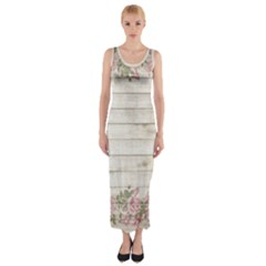 On Wood 2188537 1920 Fitted Maxi Dress