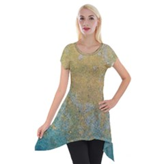 Abstract 1850416 960 720 Short Sleeve Side Drop Tunic