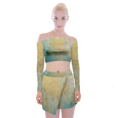 Abstract 1850416 960 720 Off Shoulder Top With Mini Skirt Set