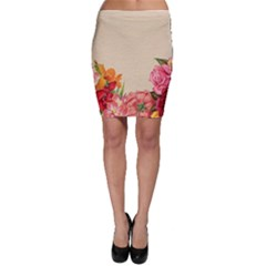 Flower 1646035 1920 Bodycon Skirt