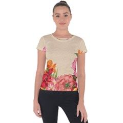 Flower 1646035 1920 Short Sleeve Sports Top