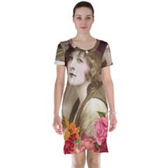 Vintage 1646083 1920 Short Sleeve Nightdress