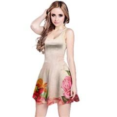 Flower 1646045 1920 Reversible Sleeveless Dress