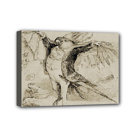 Bird 1515866 1280 Mini Canvas 7  X 5