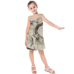 Bird 1515866 1280 Kids  Sleeveless Dress