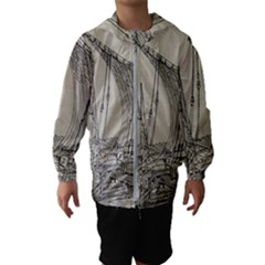 Ship 1515860 1280 Hooded Wind Breaker (kids)