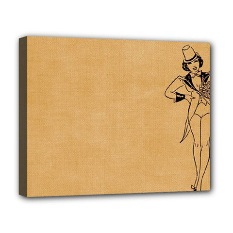 Flapper 1515869 1280 Deluxe Canvas 20  X 16