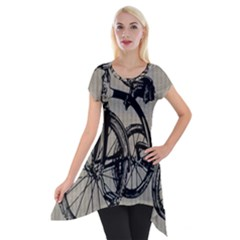 Tricycle 1515859 1280 Short Sleeve Side Drop Tunic