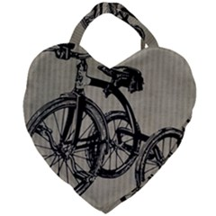 Tricycle 1515859 1280 Giant Heart Shaped Tote