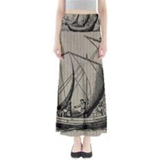 Ship 1515875 1280 Full Length Maxi Skirt