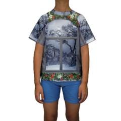 Winter 1660924 1920 Kids  Short Sleeve Swimwear
