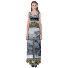 Winter 1660924 1920 Empire Waist Maxi Dress