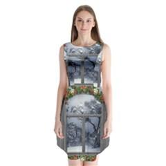 Winter 1660924 1920 Sleeveless Chiffon Dress