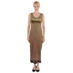 Background 1667478 1920 Fitted Maxi Dress