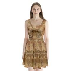 Background 1660940 1920 Split Back Mini Dress