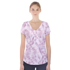 Background 1659228 1920 Short Sleeve Front Detail Top