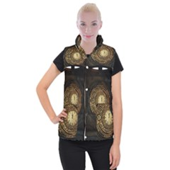 Steampunk 1636156 1920 Women s Button Up Puffer Vest