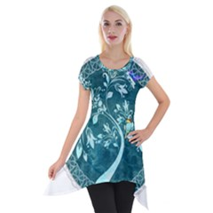 Tag 1763342 1280 Short Sleeve Side Drop Tunic