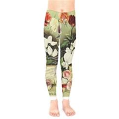 Flowers 1776617 1920 Kids  Legging