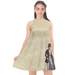 Background 1775359 1920 Halter Neckline Chiffon Dress
