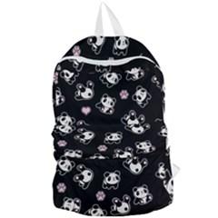 Panda Pattern Foldable Lightweight Backpack