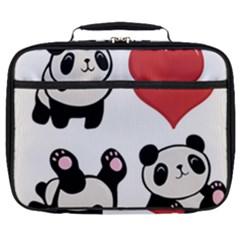 Panda Full Print Lunch Bag