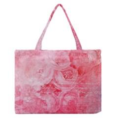 Pink Clouds Zipper Medium Tote Bag
