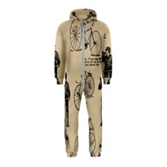 Victorian Bicycles Hooded Jumpsuit (kids)