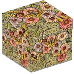 Flower And Butterfly Storage Stool 12