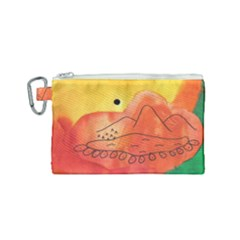 Mountains Canvas Cosmetic Bag (small)
