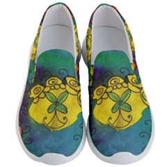 Cross Flowers Men s Lightweight Slip Ons